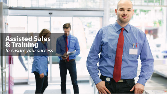 Assisted Sales and Training Ensure Success
